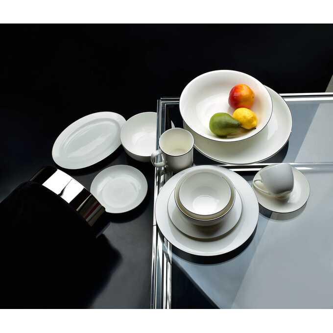 Zestaw talerzy, czyli estetyka i jedzenie